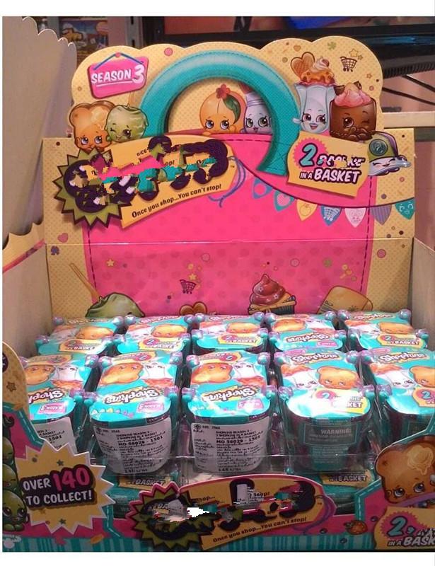 Blind Bag Toys Hot Season 3 Full Case 30 Baskets 2 Blind