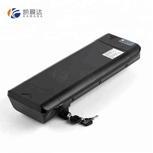 Rear rack type 36v 11.6ah electric bike lithium battery pack