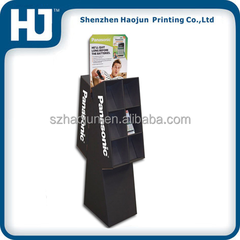Cardboard Retail Dump Bin Display Stand for Sony Electrical Appliance Or Other Mini Electrcal Appliance