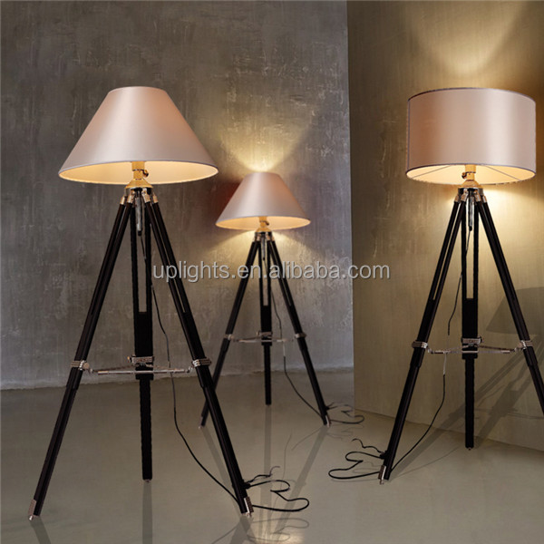 the best selling goods for 2016 upscale fashionable tripod floor lamp with empire shade