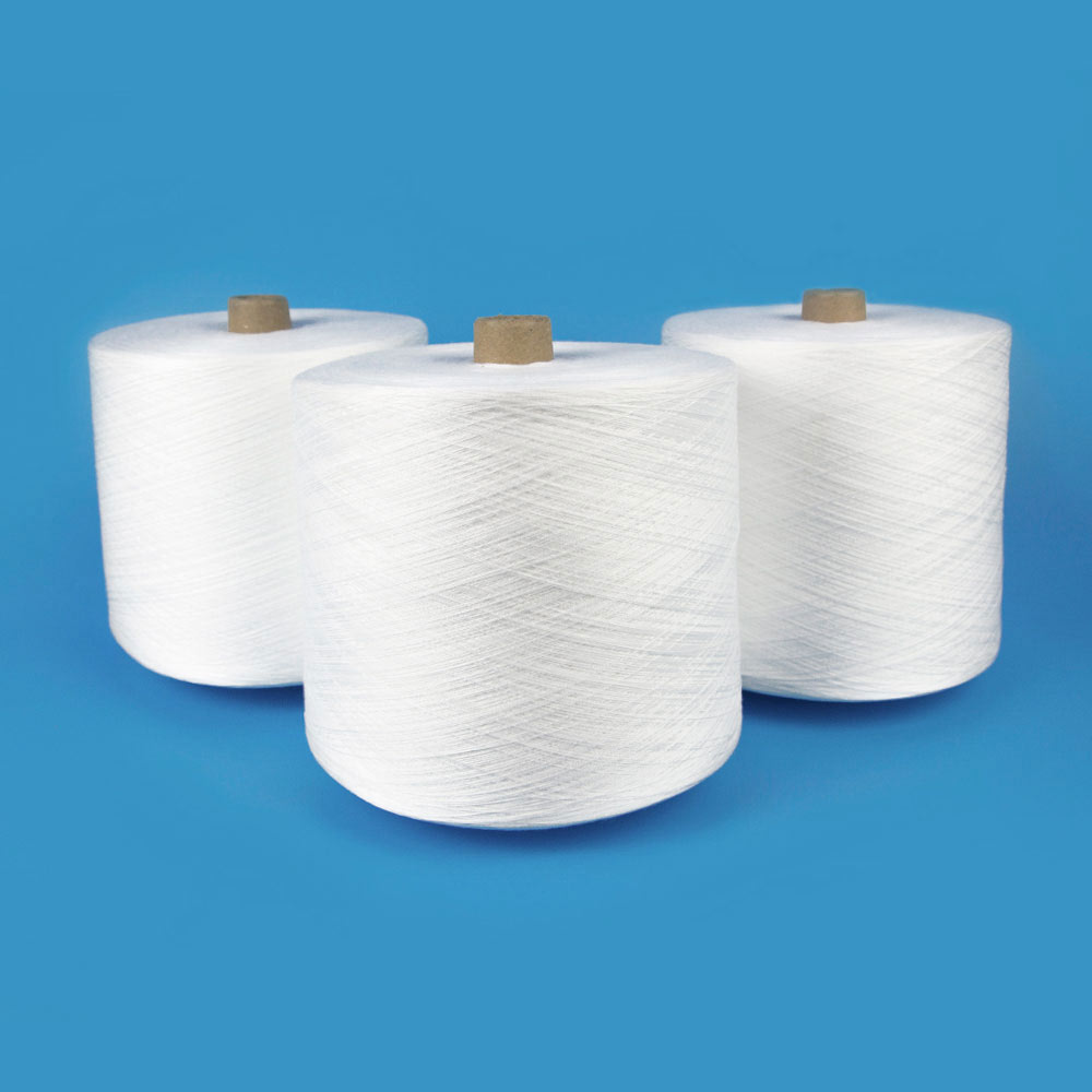 Ring Spun Carpet Yarn 100% Polyester Yarn Sewing Thread