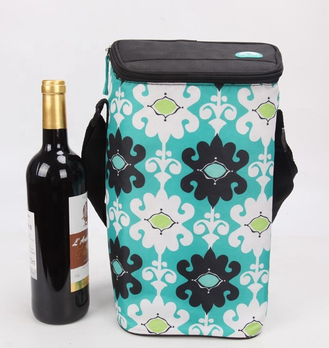 Impermeabile fresco-keeping maniglia red wine cooler cooler bag tote bag