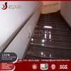 Fixed on wall mirror stair stainless steel handrail / railing design