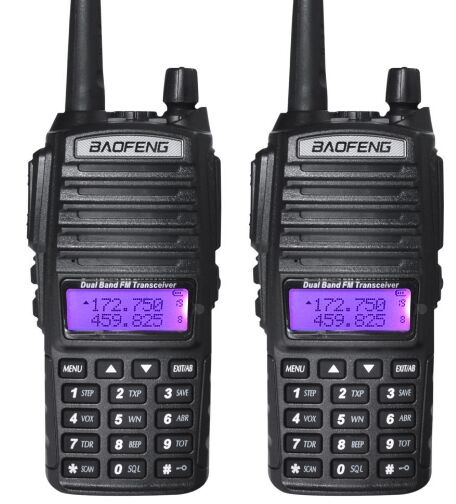 New arrival BaoFeng UV-82 8W Dual Band Two-Way Radio FM Handheld Walkie Talkie