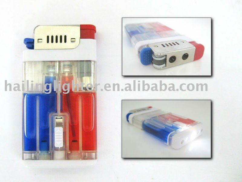 electronic cigarette lighter projection lighter