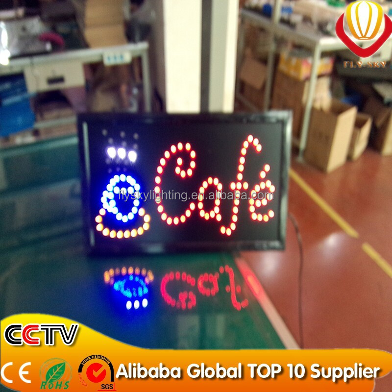 2016 new products on china maket led signs,outdoor led sign,led open sign
