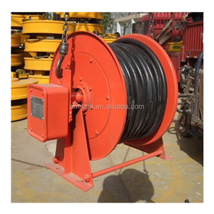 Outdoor Used Iron Foot Extension Cable Reel For Sale