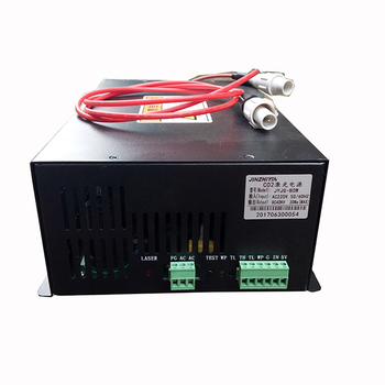 Hot sale high power 50W 60W 80W co2 laser power supply for laser cutting machine parts