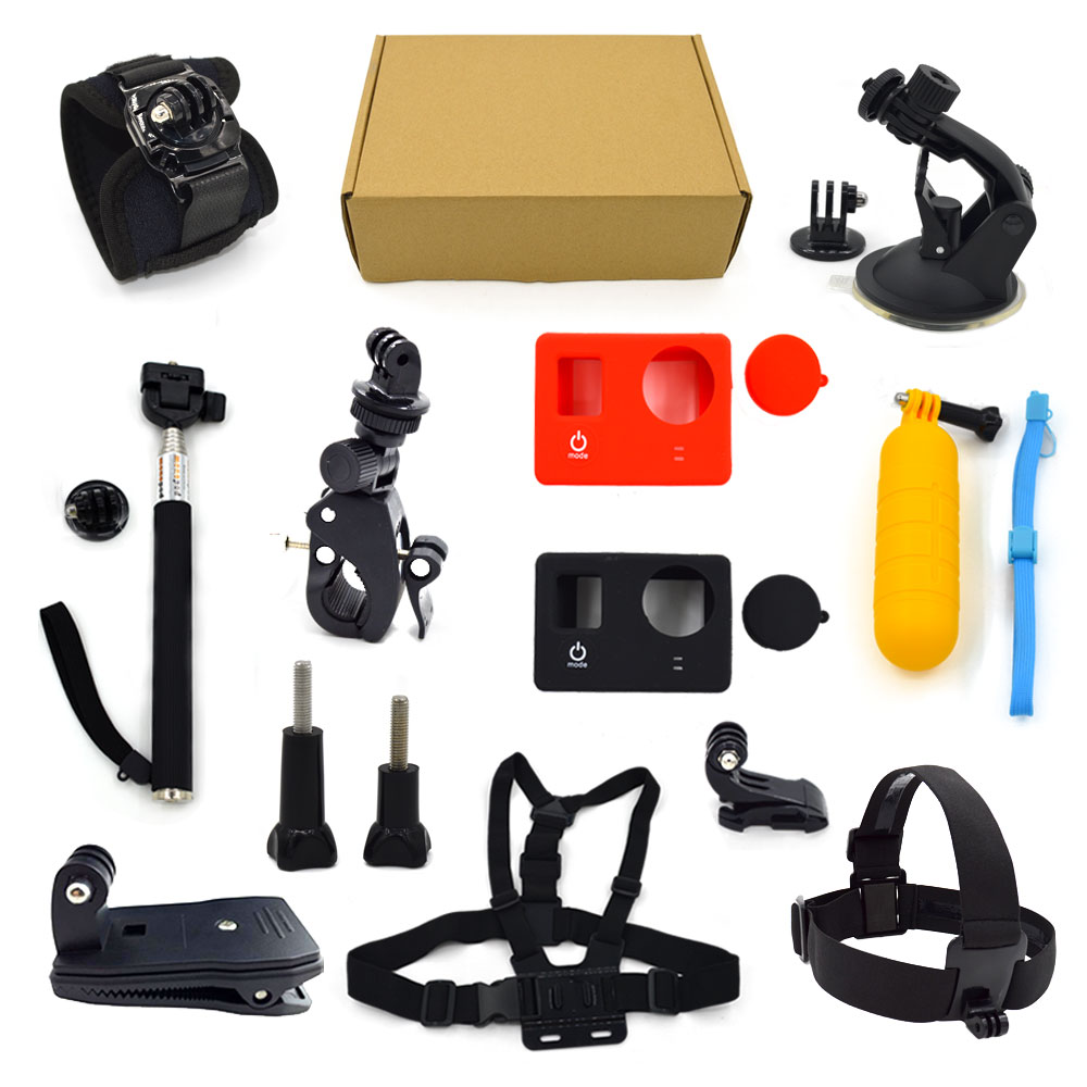 groothandel gopros accesoires kit voor accessoires gopros go pro accessoires set gp k04 andere. Black Bedroom Furniture Sets. Home Design Ideas