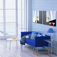 abstract modern style window 3d photo wall art painting canvas