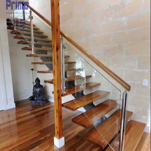 Building Stair Handrail Glass Railing Wood Stair Buy Glass Railing
