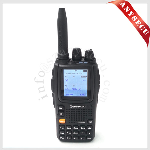 professional football umpire walkie talkie on sale Wouxun KG-UV9D plus with large battery capacity