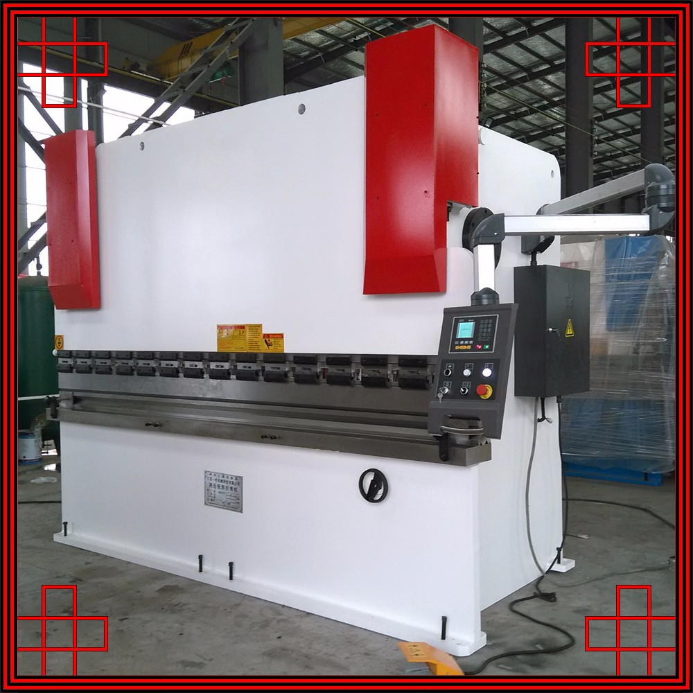 Cnc Press Brake,bending machine tube,160t iron sheet cnc press brake manual from nanjing ermaco cnc machinery