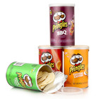 Manufacturer Custom Size Private Label Paper Pringles Potato Chips Tube Packaging Can