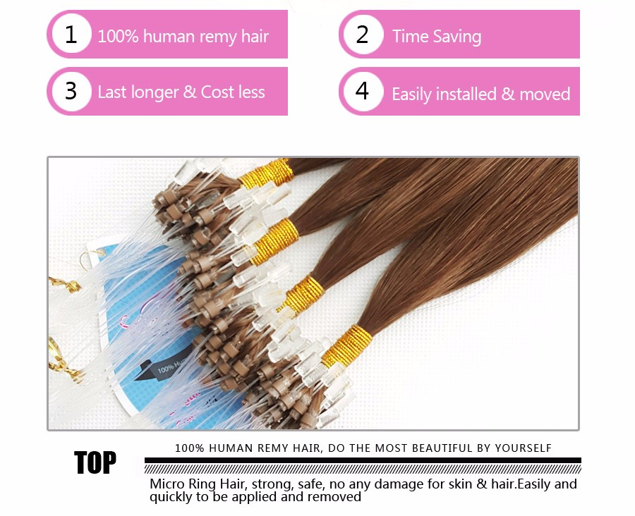 Pre bonded keratin tipped cold fusion micro loop ring links hair pre bonded keratin tipped cold fusion micro loop ring links hair extensions 30 inch malaysian solutioingenieria Images
