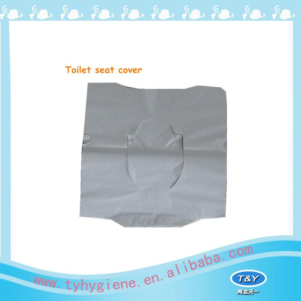 डिस्पोजेबल यात्रा पैक शौचालय सीट कागज कवर आसान ले जाने के लिए