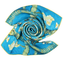 New Design Hot Sale Fashion Wholesale Silk Scarfs Made In India