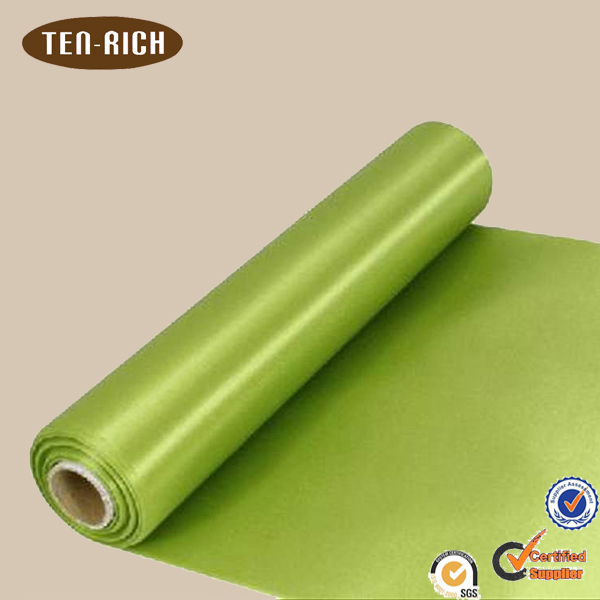 apple green satin fabric with cheaper price