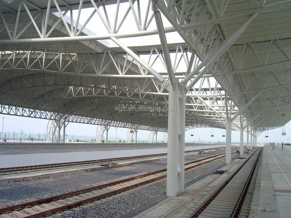 Steel Space Truss Structure For Railway Station Buy