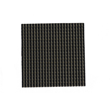 Factory directly premium PVC coaster, antiskid coaster, square pvc woven cup mat