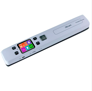 1050dpi,Color,PDF&JPG,32G TF,Double Roller,A4 WIFI Portable Handheld Document Book Scanner With Bookedge Design&HD LCD Display
