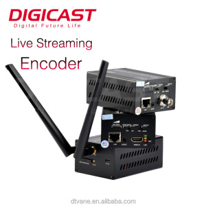 Full HD H 265 HD MI WIFI H 264 SDI Decoder Over IP Decoders/Encoder SDI To IP IPTV Stream Server