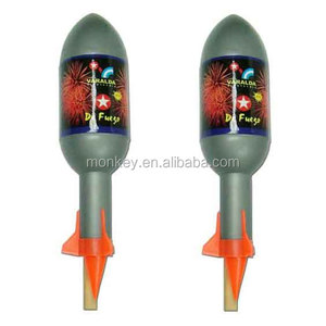 1.4G UN0336 thunder aerial big sky rocket fireworks for sale factory