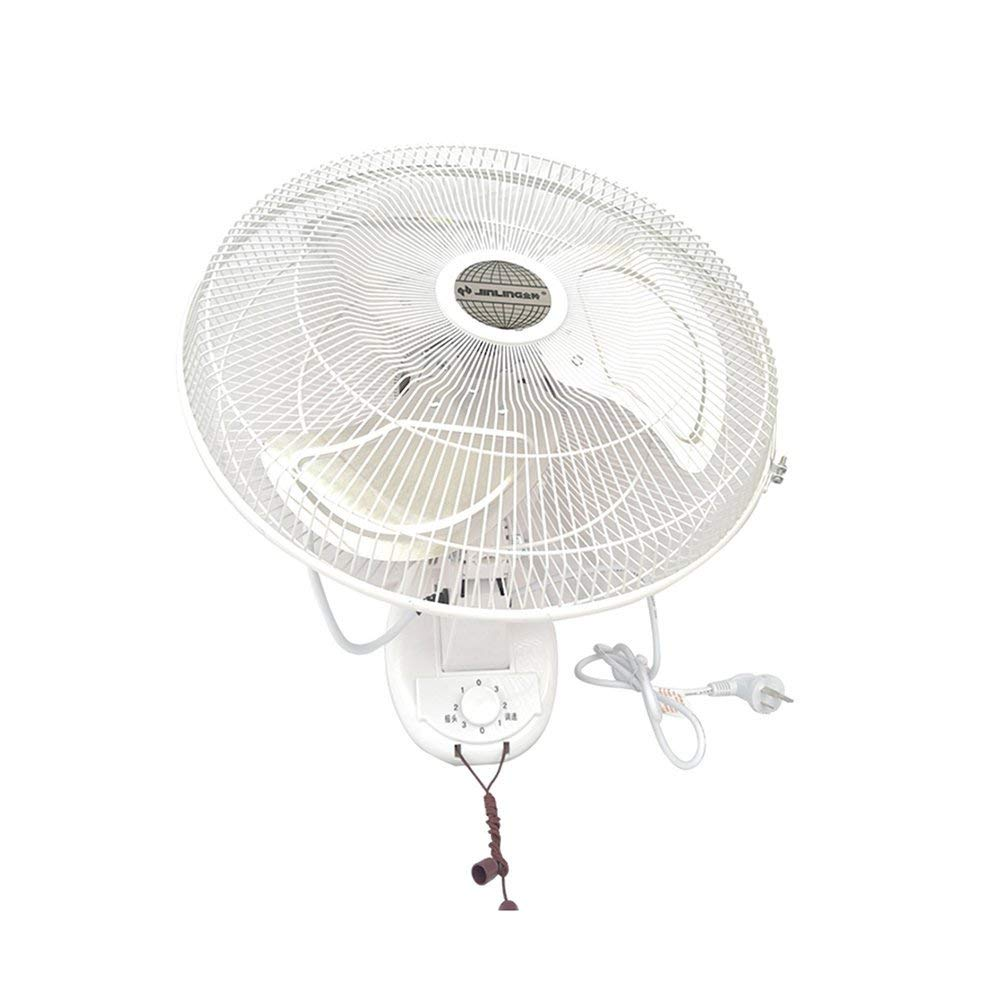 FH Hanging Fan Wall Fan Household Big Fan Industry Strong Restaurant Hanging Electric Fan Hanging Wall Moving Head (Size : 560mm)