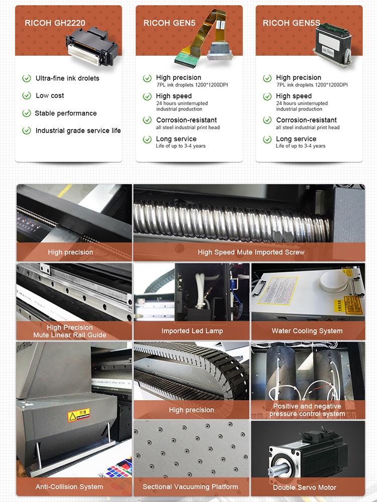 3d laser en métal commercial numérique uv imprimante