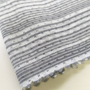 Free samples knit 150 topcool yarn dyed DTY FDY 100% polyester soft mesh fabric