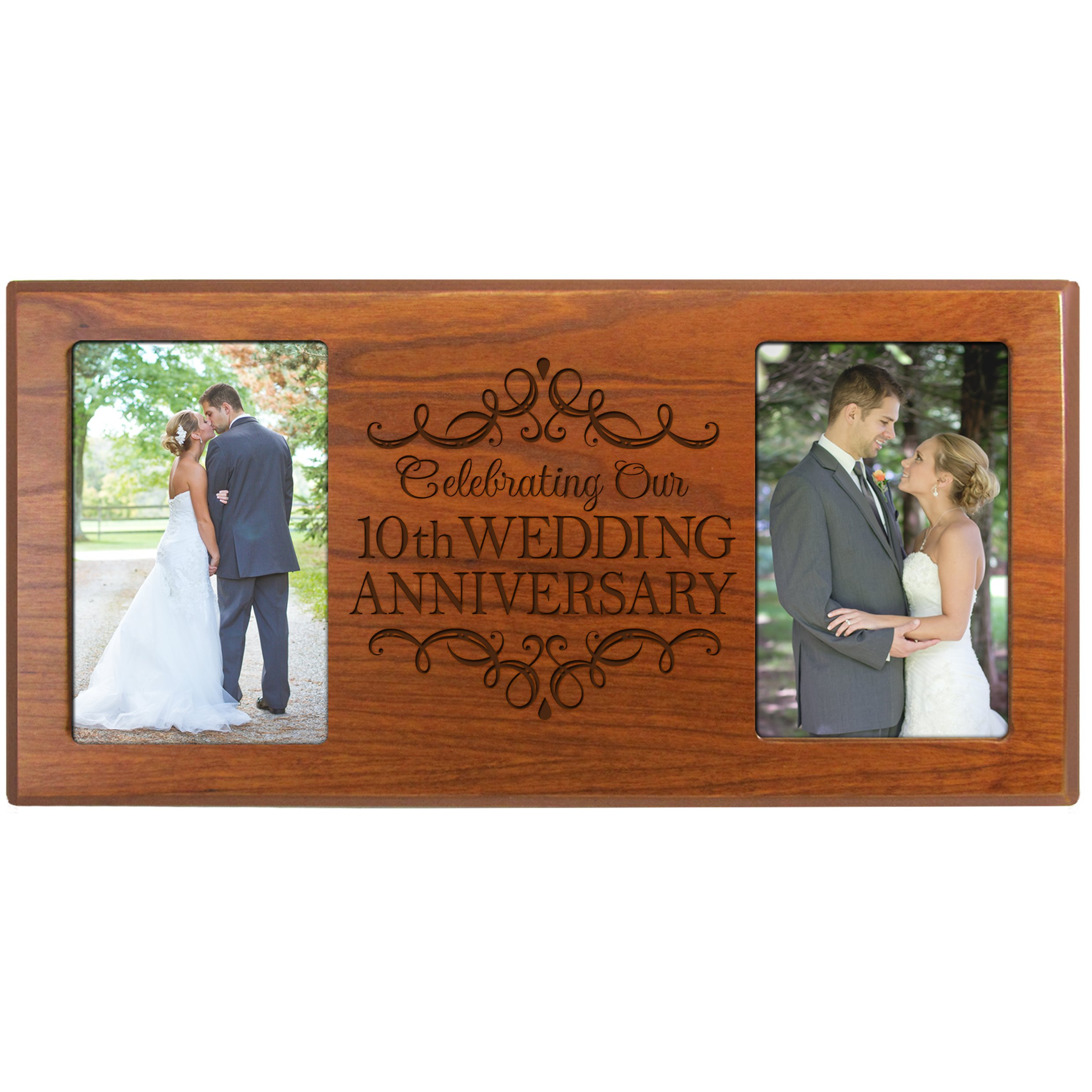 Buy 10th Wedding Anniversary Picture Frame Gift For Couple10th