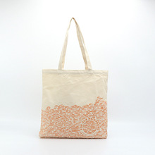 Eco Friendly Tote Bag Grocery Shopping Bag di Tela Con modello di Fiore di Modo tote bag