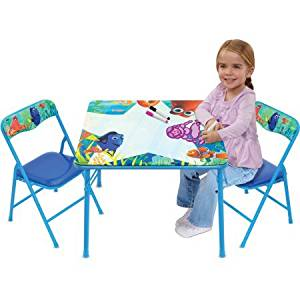 buy disney frozen erasable activity table set with 3 markers in