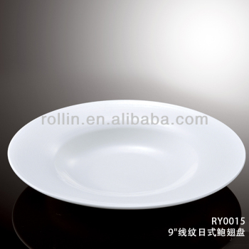 Restaurant and hotel used microwave safe 9u0026quot; round ceramic porcelain shark fin abalone dinner plate & Restaurant And Hotel Used Microwave Safe 9