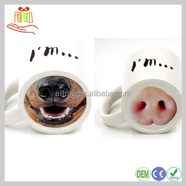 300ml Creative Pig Cup ,Ceramic coffee cup, Ceramic mug