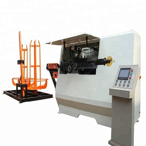 Full automatic cnc bar steel stirrup bending machine price