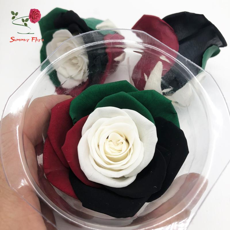 Kundenspezifische Uae Flagge Farbe Konservierte Blume Für Nationalen ...