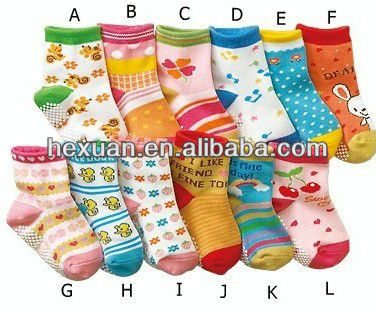 Anti-skid socks/cheap baby socks/baby's sock