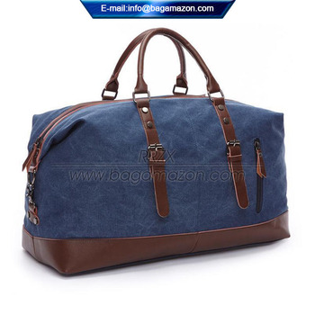99fcd32c946 Leather Travel Bag Carry Luggage Men Duffel Tote Private Label - Buy ...