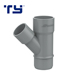 High Quality Din Standard Drainage PVC Pipe Fittings List Y Skew Tee