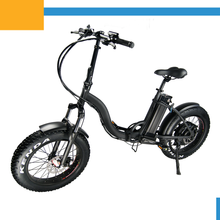 500w high quality folding fat tire electric mountain bike for lady