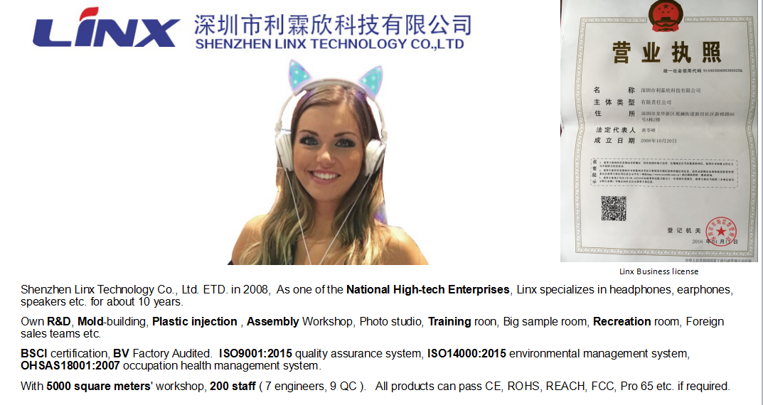 Hot sale with version V4.2 wireless stereo headphone usb for promotion