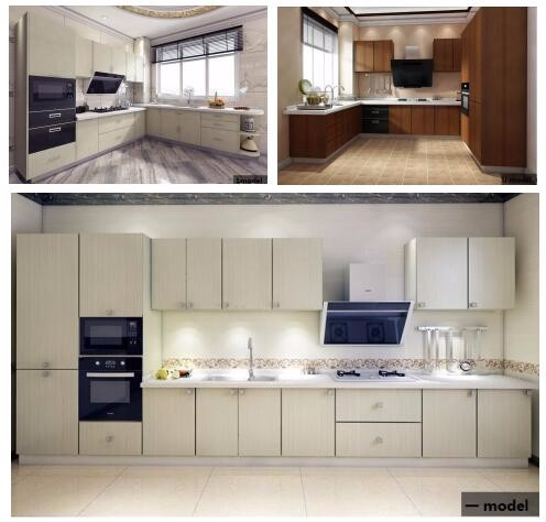 2016 new modern kitchen cabinet sheet with cheap price for Cheap new kitchen cabinets