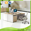 Staff room table willow one person workstation 1400W*700D*760H with mobile pedestal and CPU holder