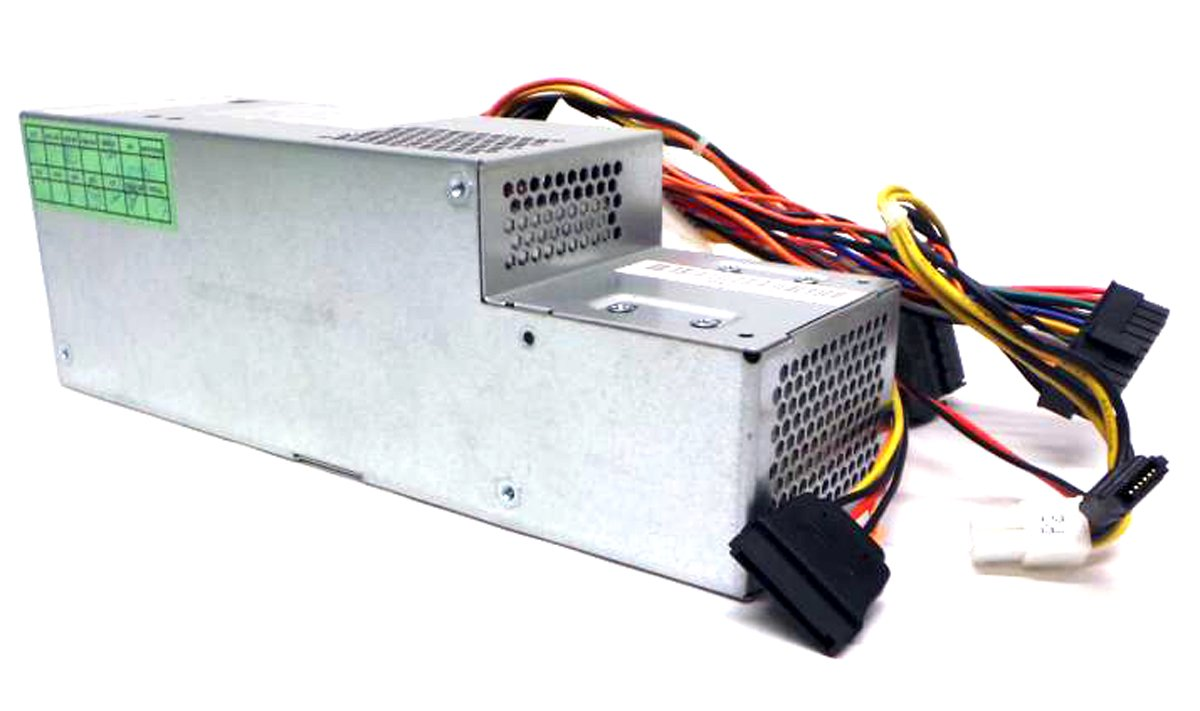 Genuine 275W Replacement Power Supply Unit Power Brick PSU For, Dell Optiplex 380, 580, 760, 780, 960 SFF Small Form Factor Systems Replaces Part Numbers: FR610, 6RG54, MPF5F, N6D7N, PW116, RM112, 67T67, R225M, R224M, WU136, H255T, G185T, GPGDV, H235P Replaces Model Numbers: F235E-00, L235P-01,