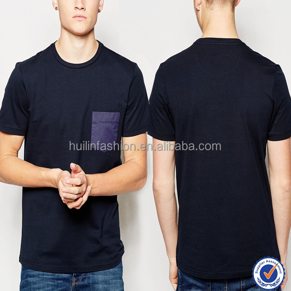 top selling products mens t shirt wholesale cheap manufacturer custom t shirt with chest pocket