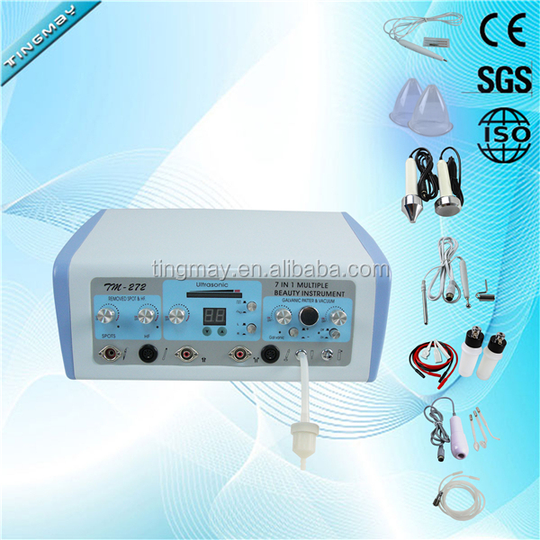 7in1 Microcurrent Face Lifting machine High Frequency slimming machine