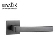 Fancy bathroom locking front entrance cheap small black round door handles
