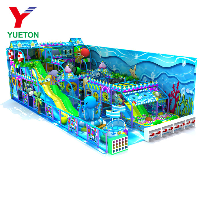 Kids Decoration Indoor Playground Construction Play Set