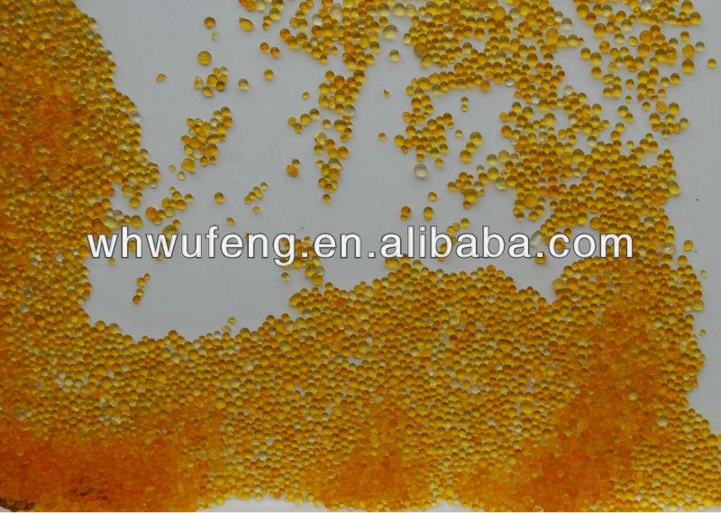 Gel de sílice auto-que indica 5 X 250gm sobres de cambio de color naranja a verde